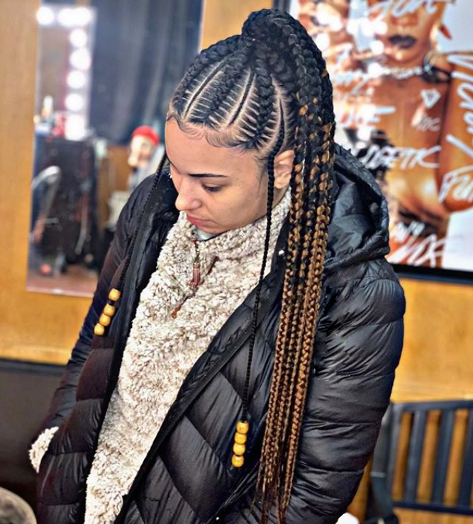 50 Latest Feed In Braids Styles Of 2019 Legit Ng