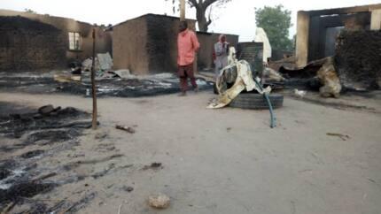 Ba dadi: Boko Haram sun sake kai hari Rann, sun kona asibiti daya tilo kurmus (Hotuna)