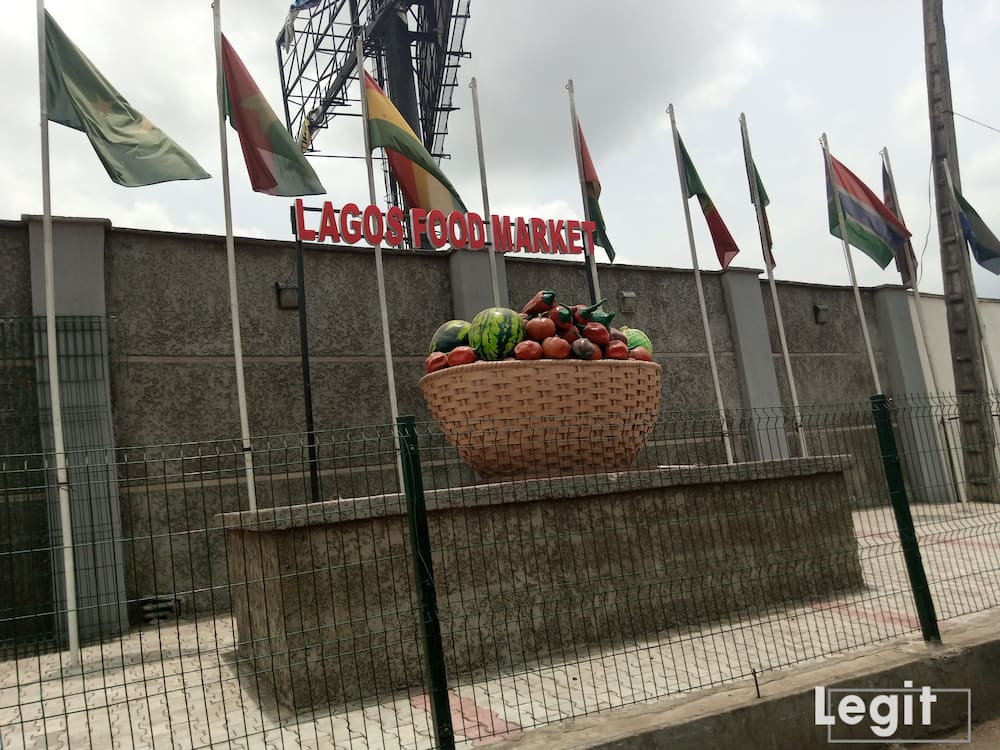 Mile-12 international market, Mile-12, Lagos.