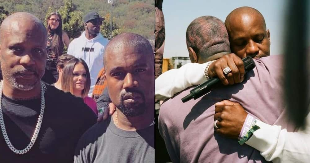 Helping out: Kanye West raises R14 million for DMX's family