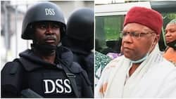 Former presidential candidate arrives DSS headquarters for questioning