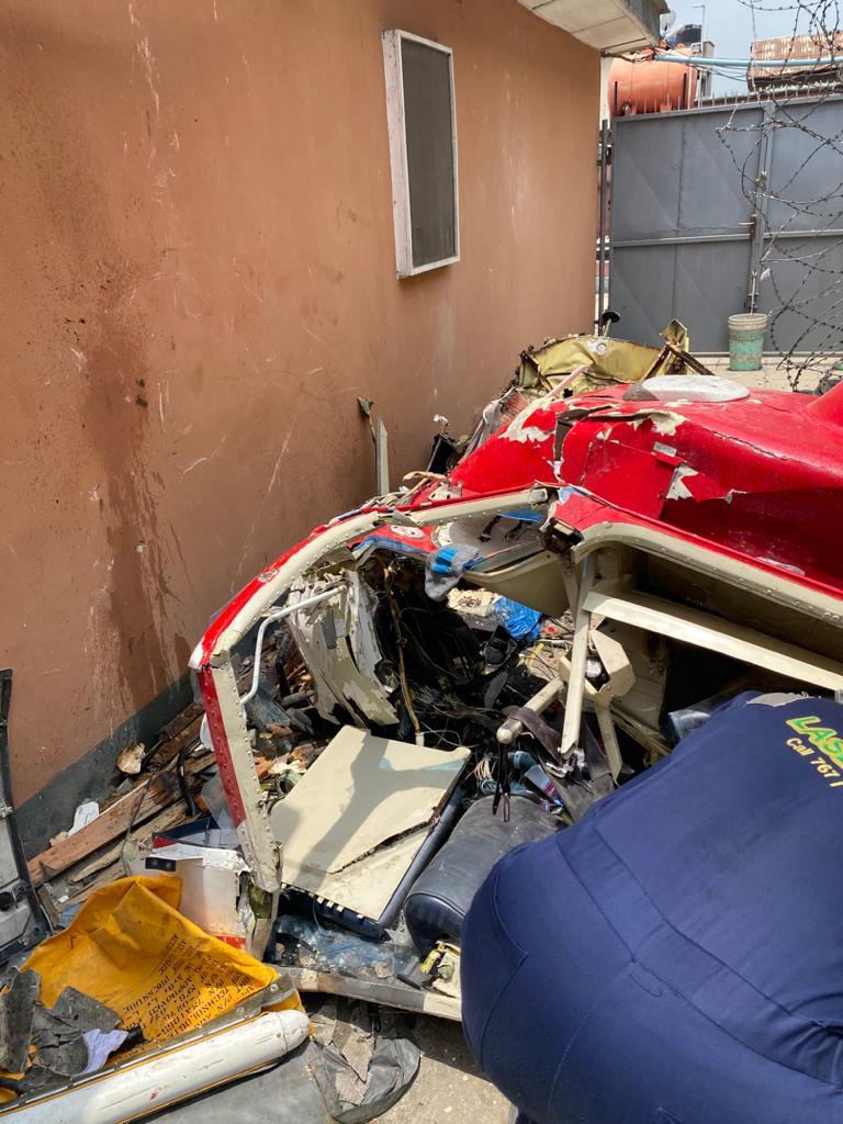 Lagos Helicopter Crash: Airline reveals Identities of Victims