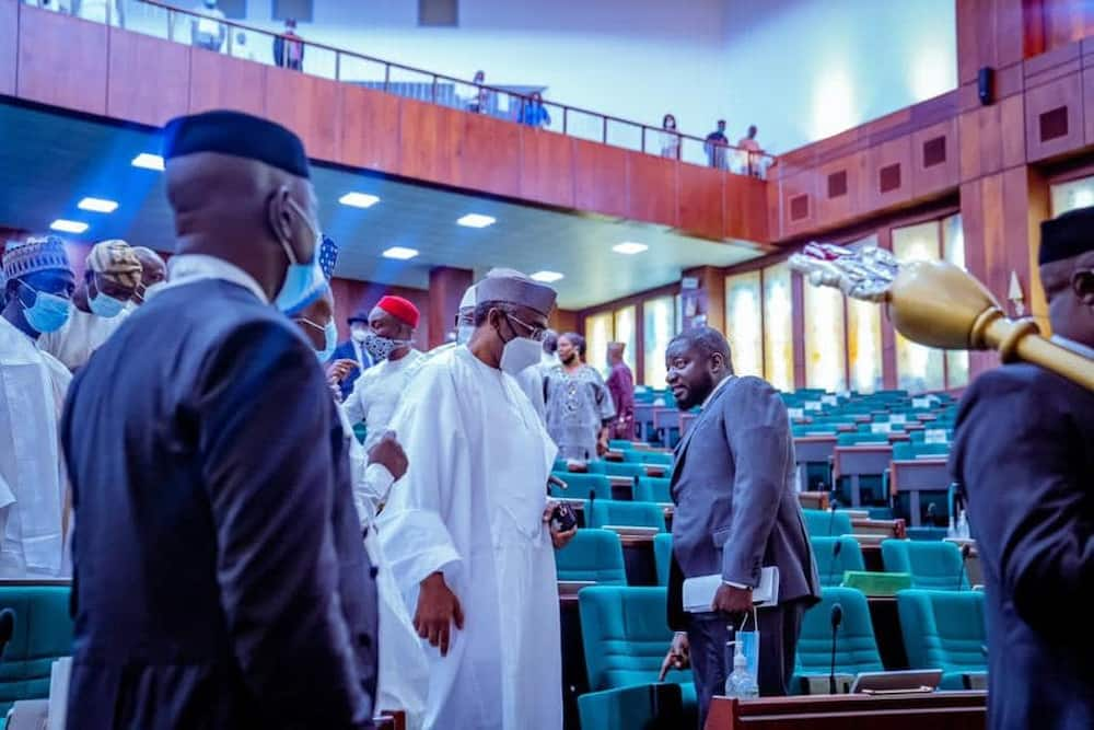 PDP lawmakers stage walkout as Reps passe electoral bill.