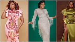 10 photos of actress Funke Akindele serving major style goals in beautiful dresses