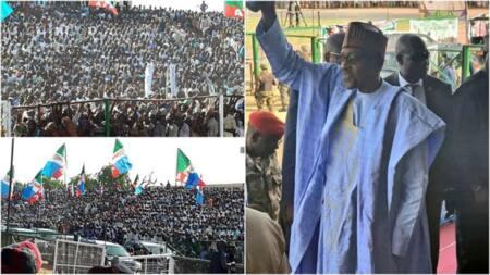 Dubn dubatan jama'a sun taru a gangamin yakin neman zaben Buhari a Damaturu