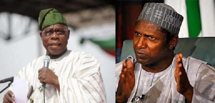 Na barku da Allah akan zargin da kuke min; Obasanjo ya bayar da tarihi akan marigayi Yar'adu