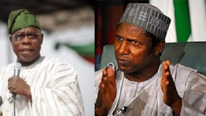Na barku da Allah akan zargin da kuke min; Obasanjo ya waiwayi tarihin marigayi Umaru Yar'adua