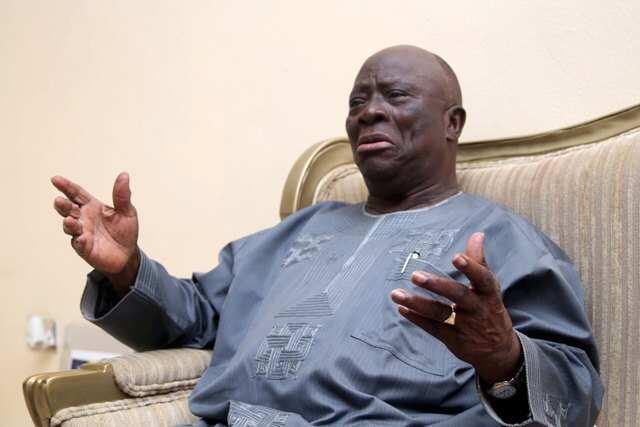 Afenifere leader, Ayo Adebanjo criticises Nnamdi Kanu for promoting secession