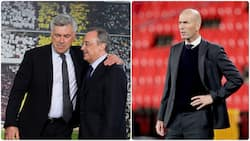 Real Madrid name the only Premier League manager they will hire if Zinedine Zidane leaves this summer