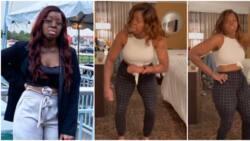Nigerians gush over plane crash survivor Kechi as she joins 'dancina' challenge by Yemi Alade