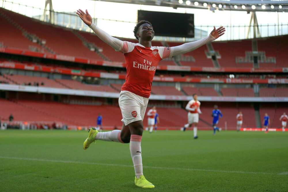 Bukayo Saka: Victor Ikpeba urges Rohr to invite the Arsenal star to Super Eagles