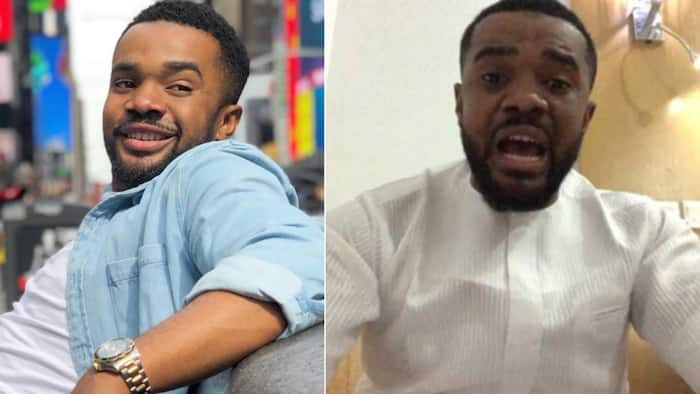 I am not a fraudster - Williams Uchemba addresses claim that he scams people as a 'UN Ambassador' (videos)