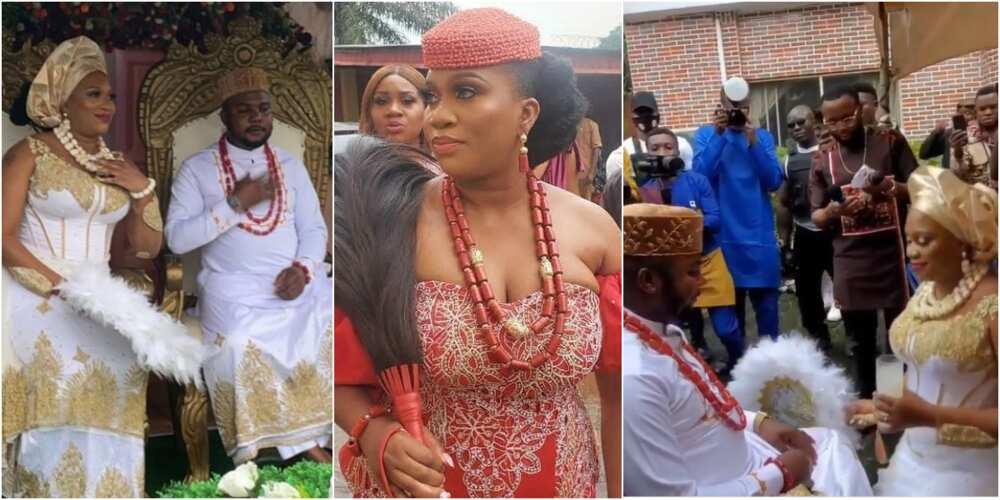 Ubi Franklin's 3rd baby mama Sandra Iheuwa