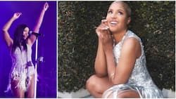 You don't need no other body: 53-year-old US star Toni Braxton flaunts lovely figure, grooves to Wizkid's song