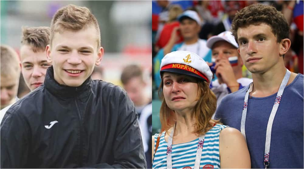 Ivan Zakborovsky, 16, struck by lightning while in training with teammates