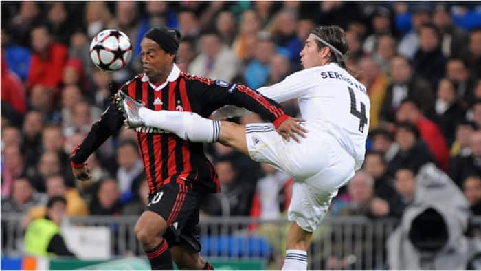 Ronaldinho's attack on Sergio Ramos backfires after Real Madrid legend delivered savage response