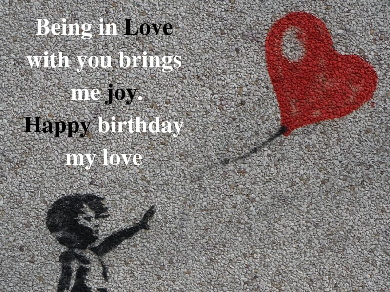 50 birthday wishes for love: best messages and quotes for