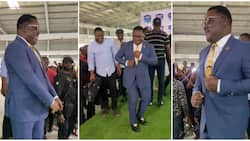 Governor Ayade gives Nigerian dancers a run for their money as he shows off hot legwork moves in viral video
