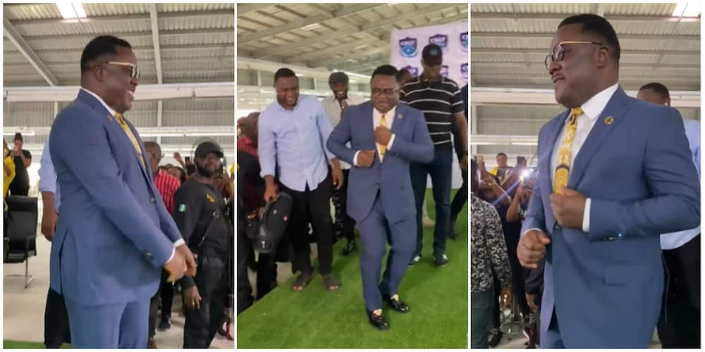Governor Ayade shows off hot legwork moves in viral video