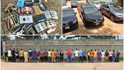 List: EFCC releases names of 59 suspected internet fraudsters arrested at different locations
