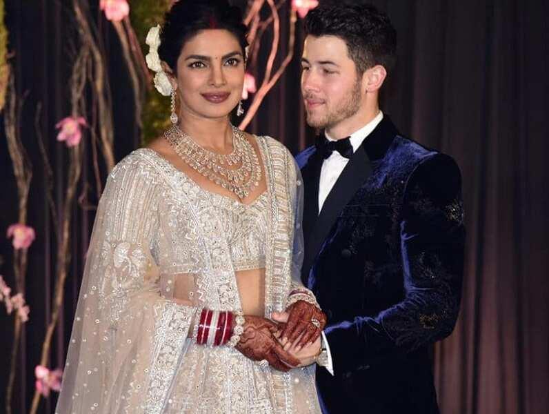 Priyanka Chopra and Nick Jonas wedding party (traditional part)