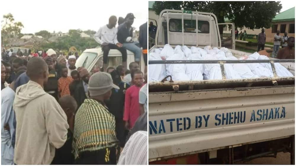 Plateau Attack: Photos Emerge as 25 Travellers Killed in Jos Buried in Mass Grave