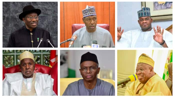 2023: 5 APC governors who can become VP in another Goodluck Jonathan's presidency