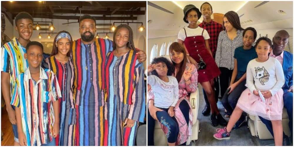 DNA where? 6 Nigerian celebs that look so much like their kids