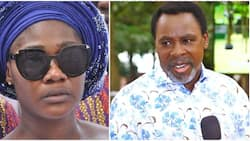 TB Joshua: Nollywood's Mercy Johnson mourns late man of God, fans comfort her