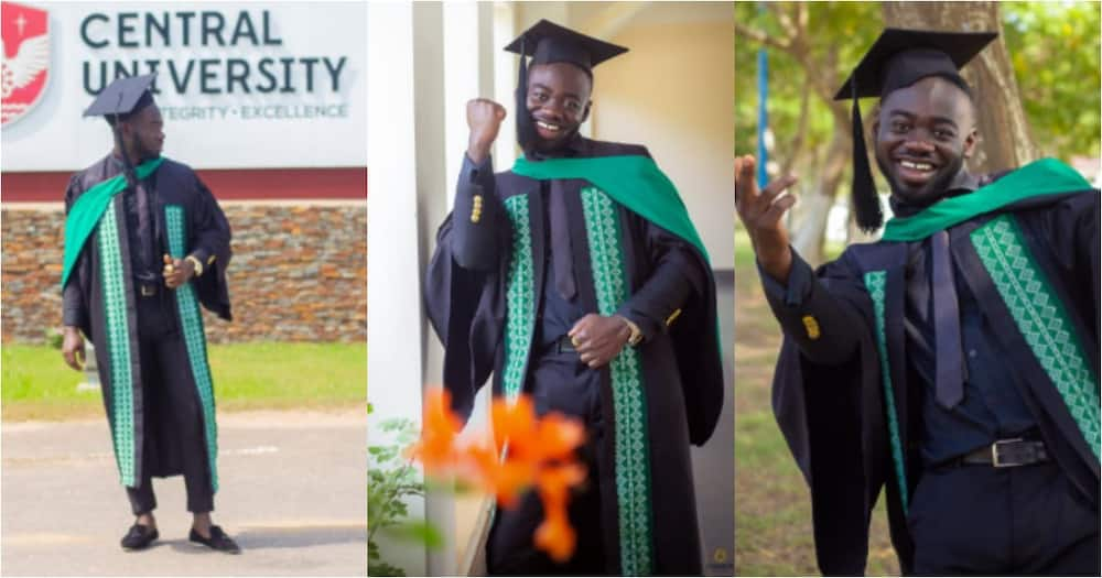 Kwesi Tumtum: Ghanaian student who nearly quit varsity after 1 maths lecture shares touching story