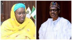 Amina Zakari: Buhari ya bawa dan babbar ma'aikaciyar INEC mukami a gwamnatinsa