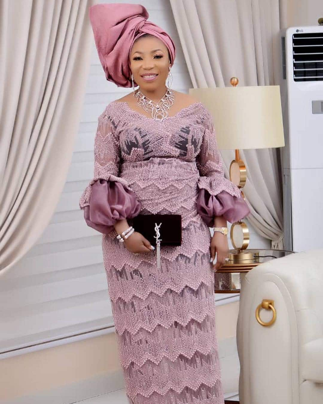 Latest lace styles 2019 in Nigeria
