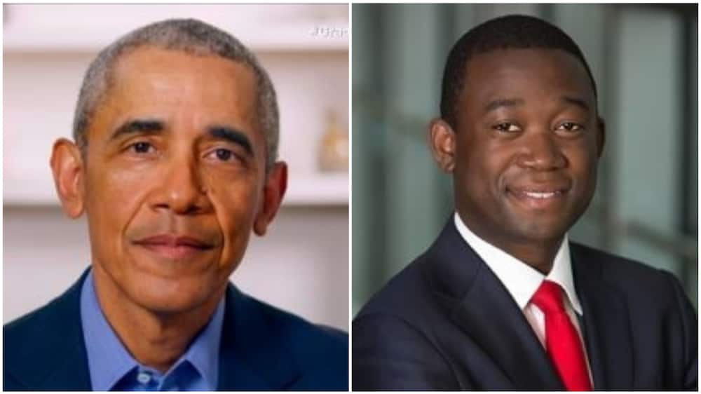 A collage of Obama and Adeyemo. Photo source: Empowerema/CNN