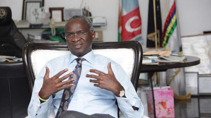 FG won't embark on new road projects until old ones are completed - Fashola