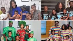 6 photos showing Mercy Johnson's stunning family since she welcomed her last baby