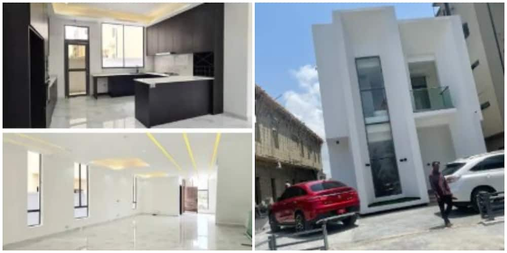 Young Nigerian Man Shows off His New House with Expensive Interior, Pictures Send Many into Frenzy