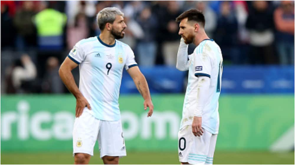 Sergio Aguero: 'Messi and I are like old married couples'