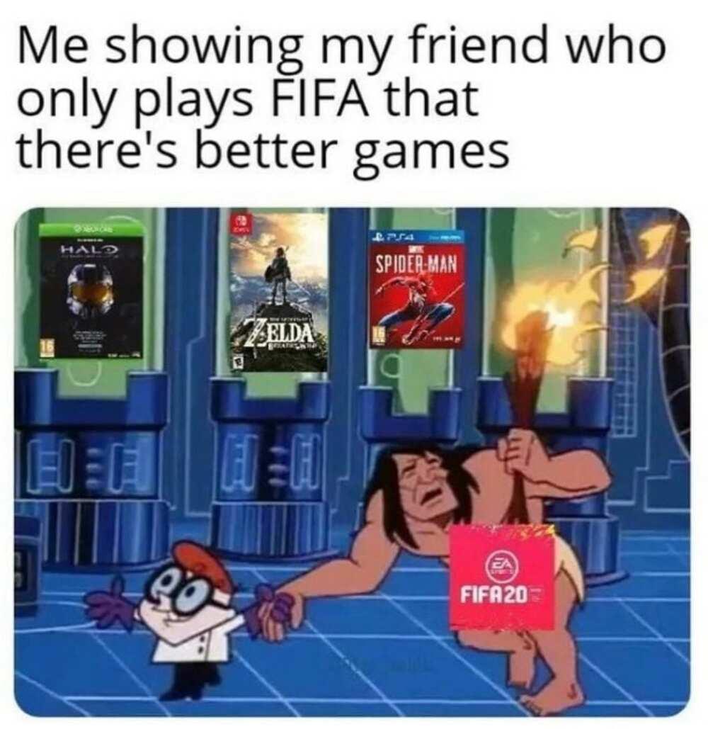 Gamer girl meme