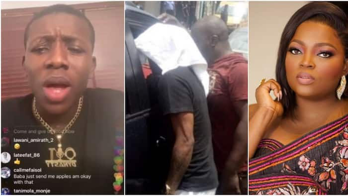 Small Doctor curses peddlers of fake news that he was arrested for attending Funke Akindele's party