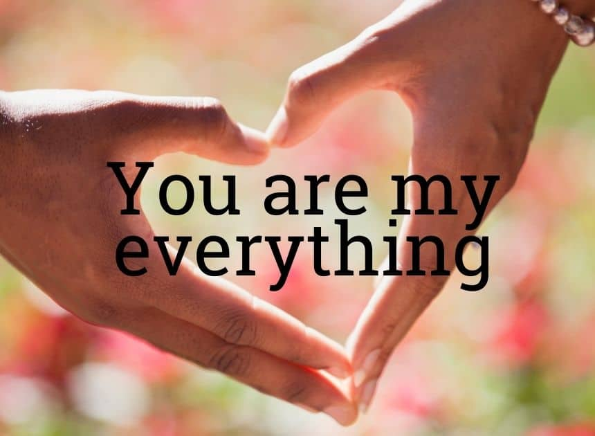 Sweet msg for him