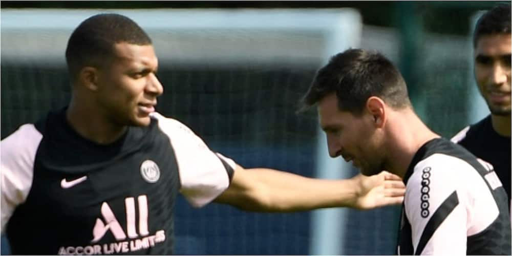Messi thrills PSG fans as he scores superb goal assisted by Mbappe in training