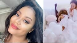 See cute video as actress Nadia Buari's children surprise her on 38th birthday