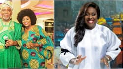 Joke Silva at 60: Olu Jacobs shares stunning photos of wife as she marks birthday and 40 years in industry