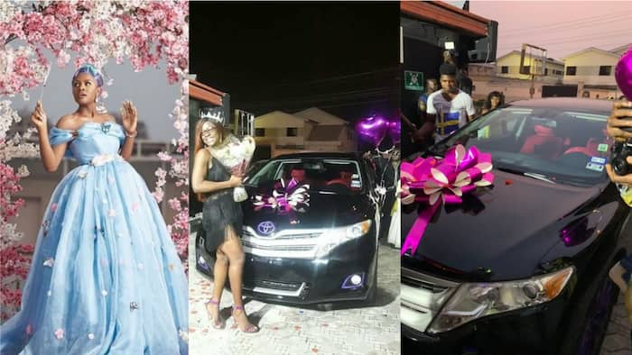 BBNaija's Alex gets car gift from her fans on her 23rd birthday (photos)