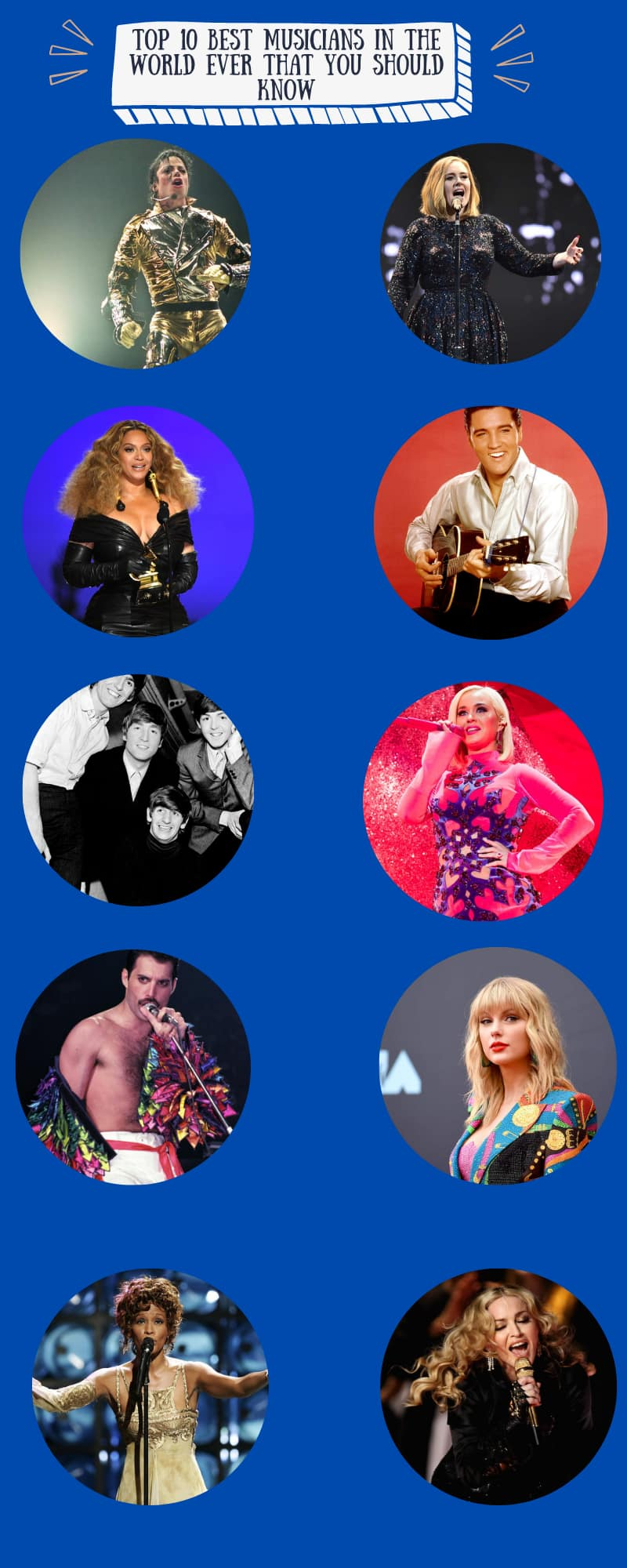 Best musicians in the world