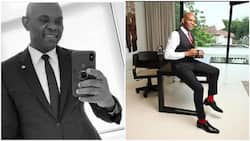No be iPhone 12 Pro Max: Nigerians react to billionaire Tony Elemelu using old phone in viral photo
