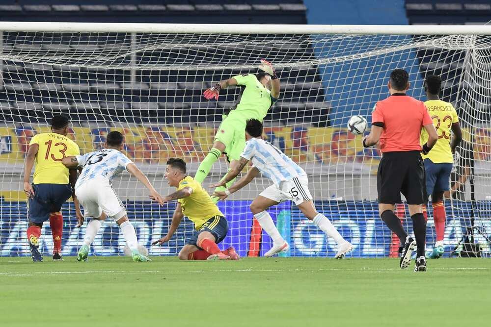 Colombia vs Argentina.