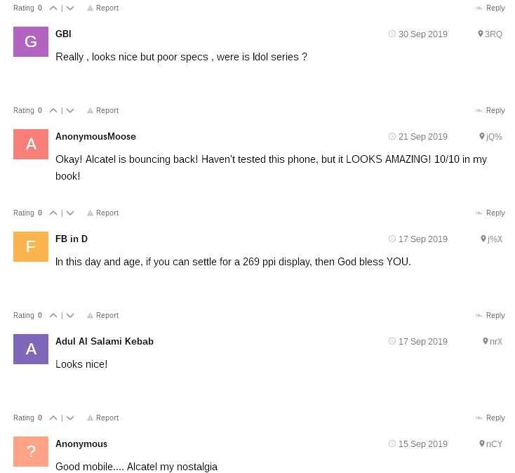 Alcatel 3X review
