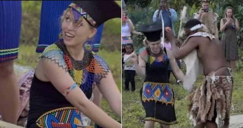 Beautiful Interracial Couple Inspires Mzansi With Stunning Wedding Snaps