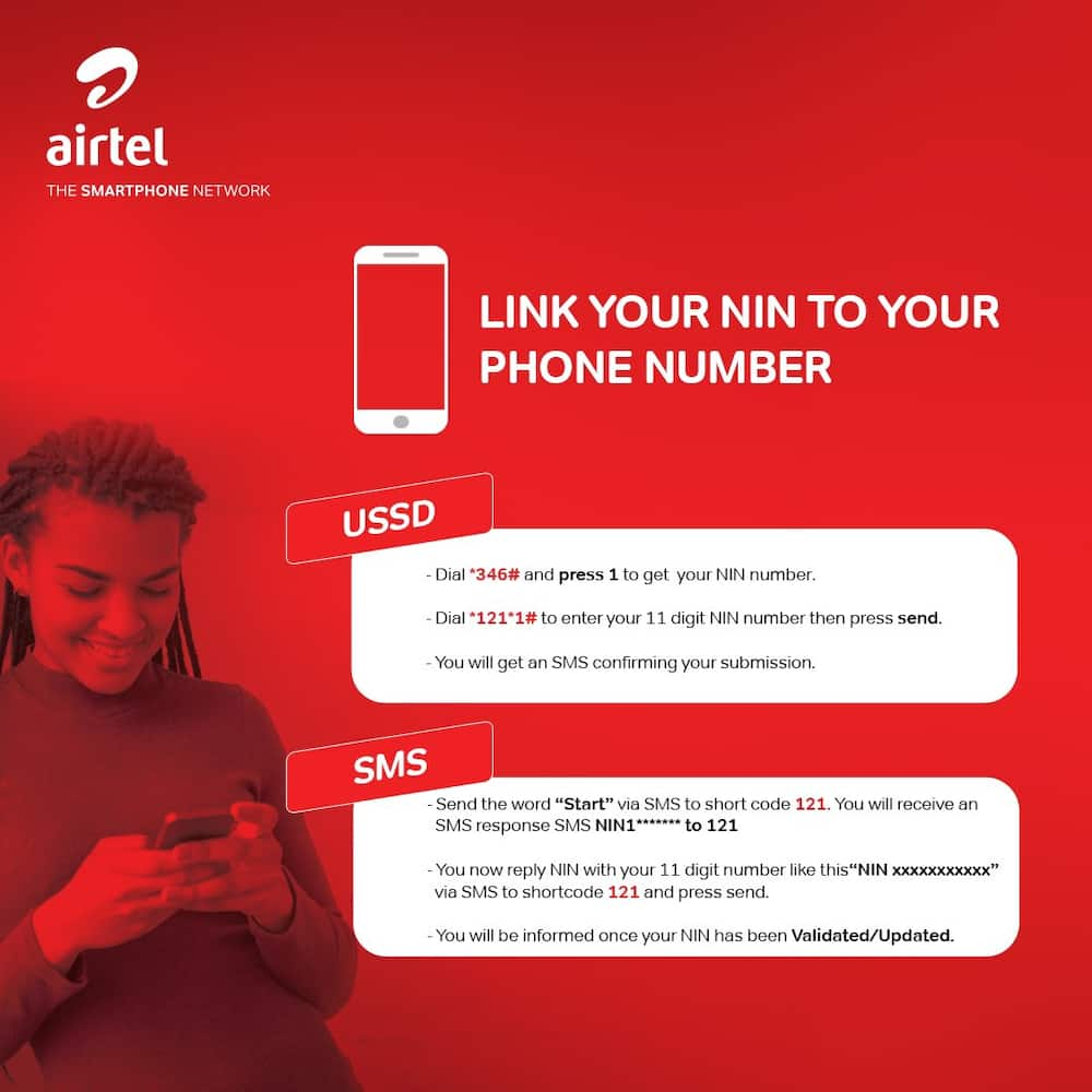 How to check NIN number on Airtel
